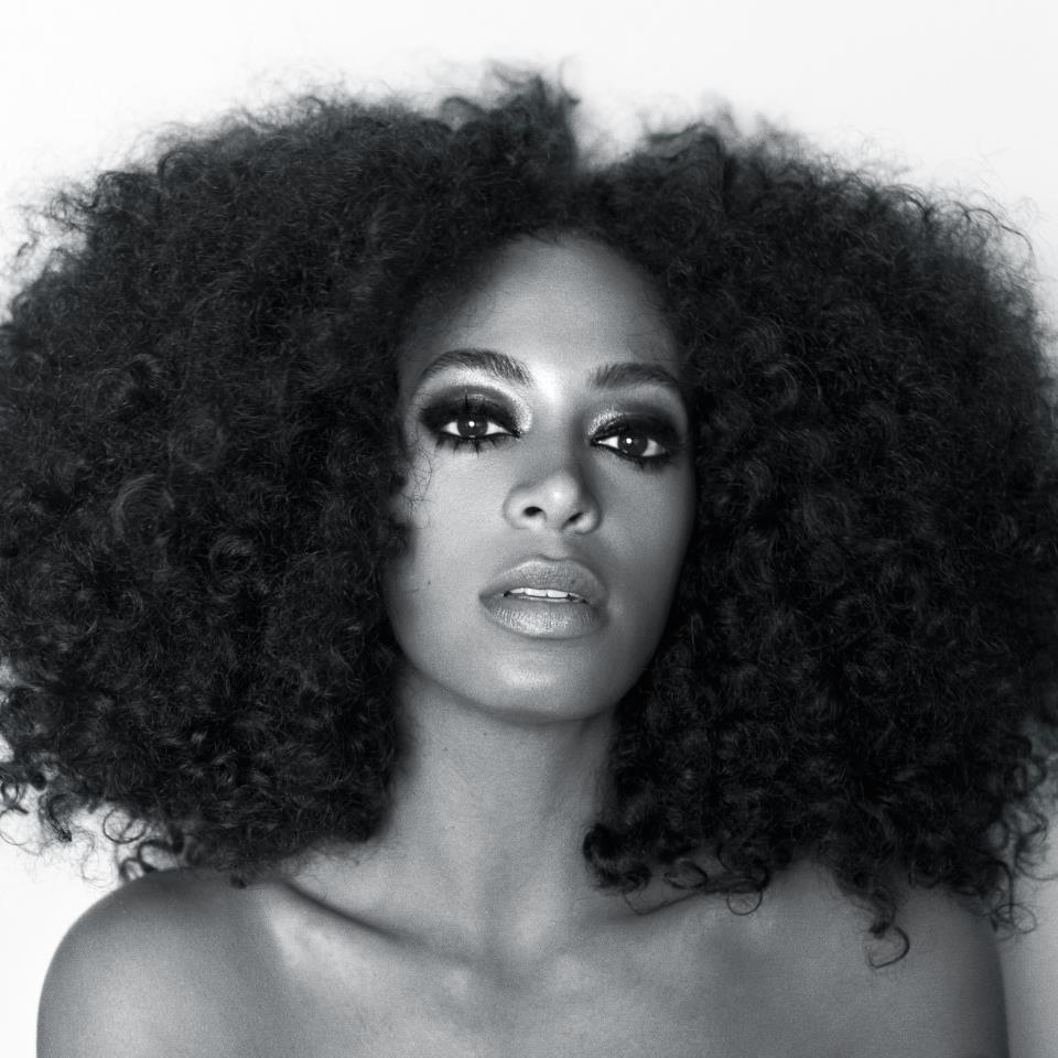 Solange Knowles sporting 'naturalista' style hair