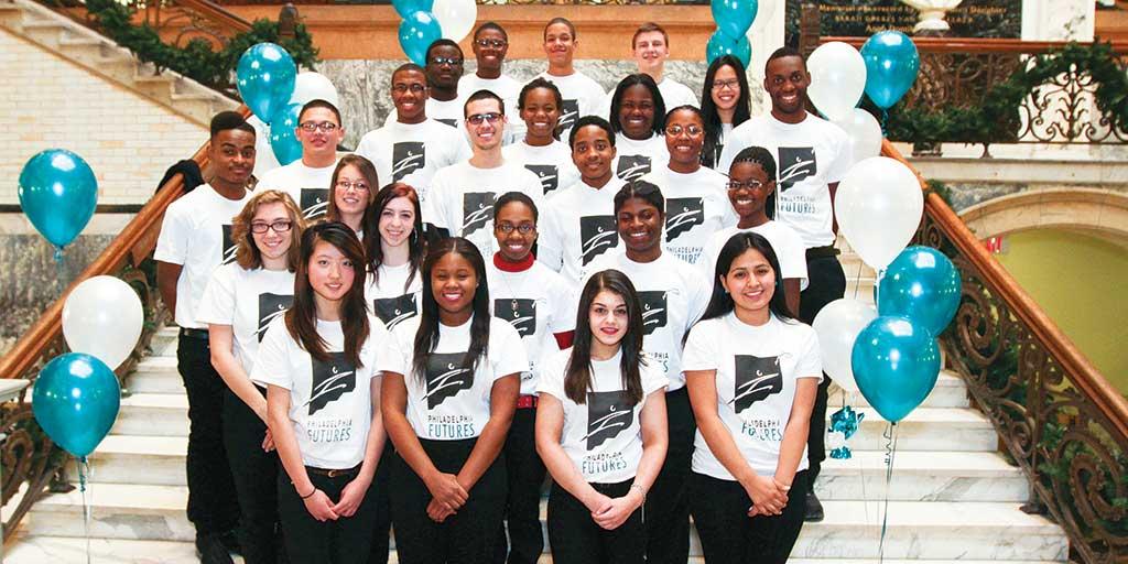 Philadelphia Futures students