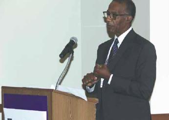 Keynote speaker Frank Stewart