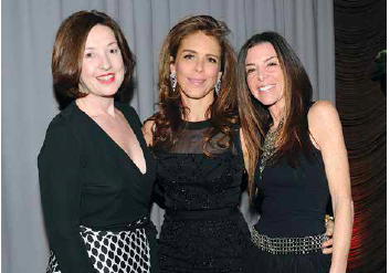 Co-founders Victoria Leacock Hoffman, left, Dinivan Mueffling, and Stefani Greenfield