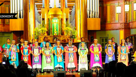 Songs and spiritual hymns from the Emmy and Grammy award winning Soweta Gospel Choir.