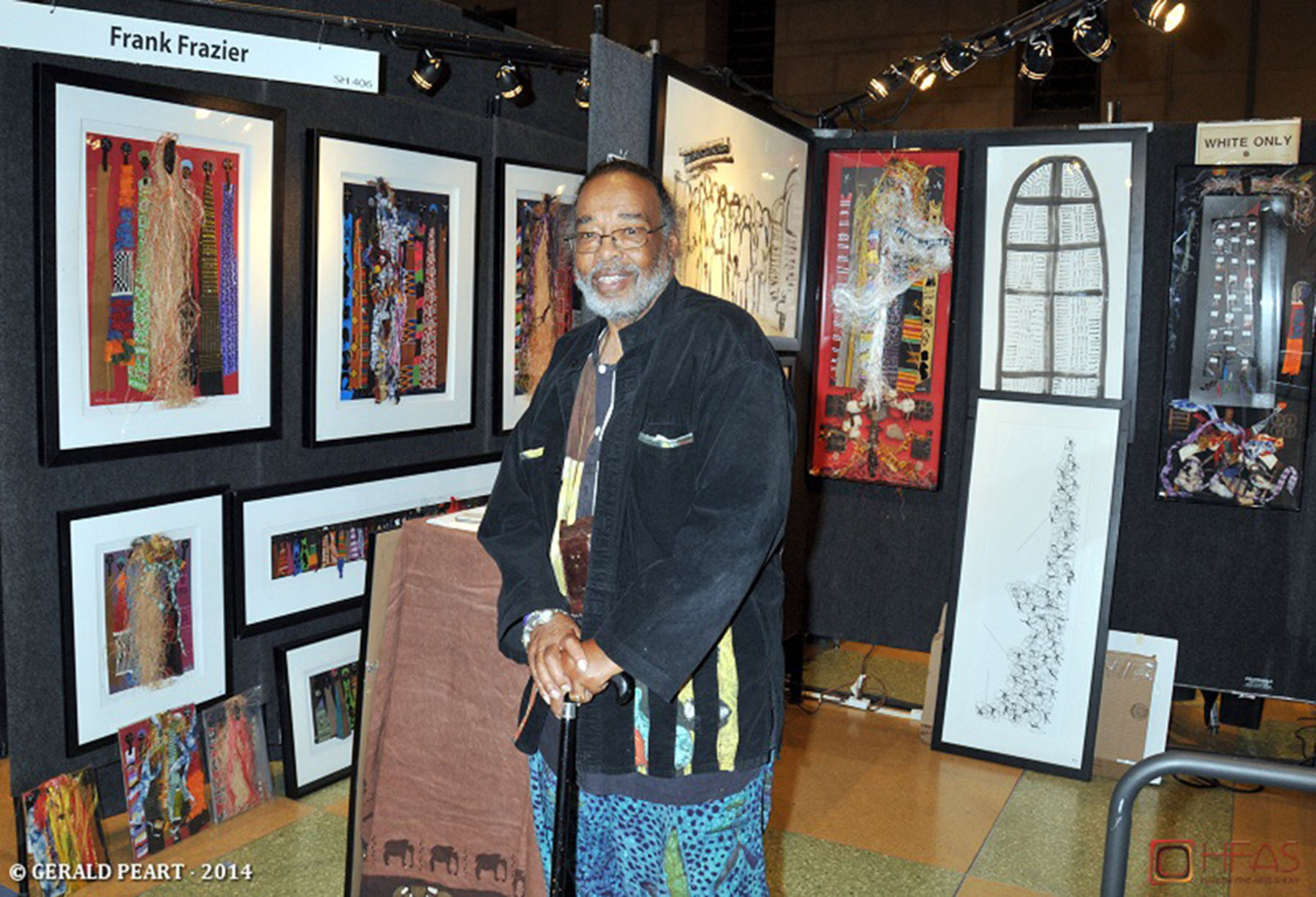 THE HARLEM FINE ART SHOW: It's Not Just A Black Thing