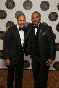 Torrence Boone, Global Head of Agency Sales & Services, Google, One Hundred Black Men., Inc. of New York 35th Annual Benefit Gala honoree and Steven A Board, OHBM Executive Director