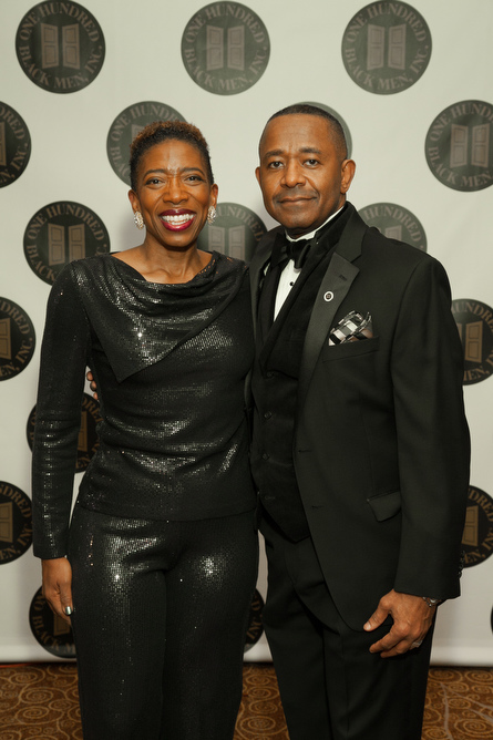 Carla A. Harris, Vice Chairman, Wealth Management, Morgan Stanley and Steven A. Board, Executive Director, One Hundred Black Men, Inc. of New York