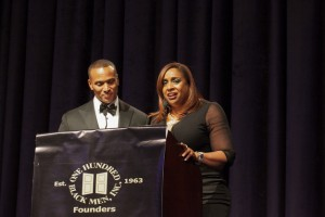 35th Annual Benefit Gala Co-hosts Mike Woods, Good Day New York, WNYW Fox 5 and Shaila Scott, Midday Radio Personality, WBLS
