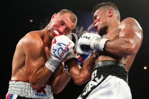 Eleider Alvarez punishes Sergey Kovalev at the Hard Rock Hotel & Casino