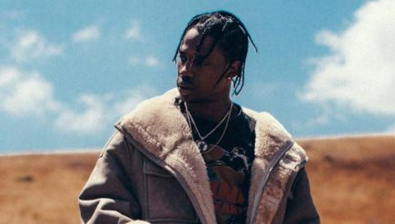 Travis Scott (photograph by Mark Horton)