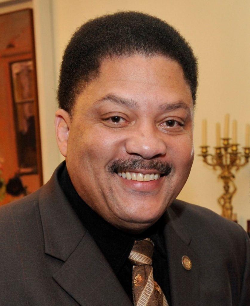 Geoffrey Eaton, newly appointed Director of Community Affairs and Diversity at Touro College of Osteopathic Medicine and Touro College of Pharmacy in Harlem.