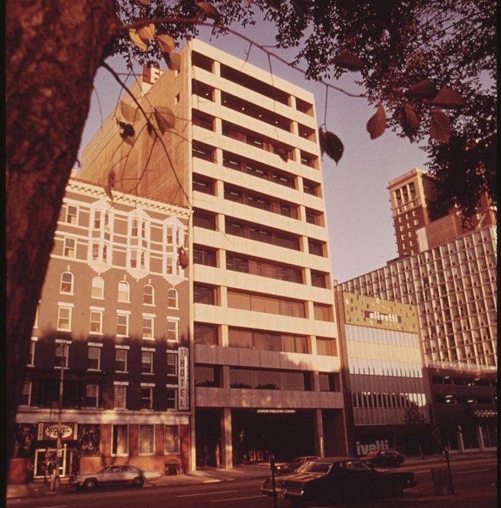Johnson Publishing on Michagan Avenue in Chicago