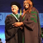 TouroCOM Harlem Dean Dr. David Forstein with graduate