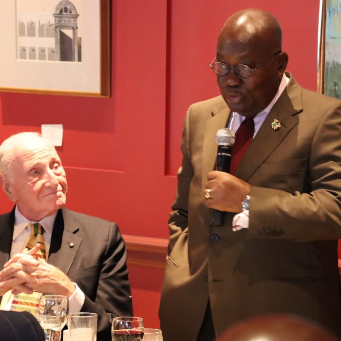 Lunch with the President of Ghana