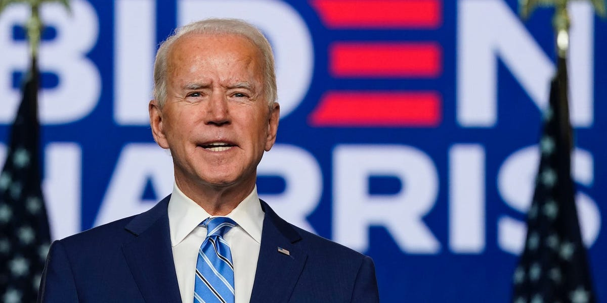The Thrill of Victory Biden 2020