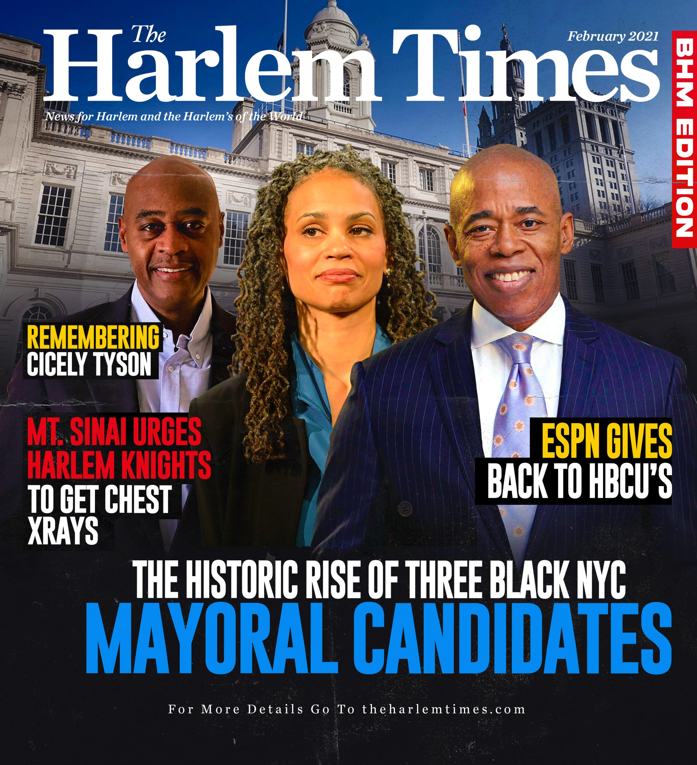 The Historic Rise of Three Black NYC Mayoral Candidates