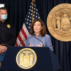 """Governor Hochul Announces Partnership with """"New York Fashion Week: The Shows"""" to Support the Revitalization of Creative Industries in New York"""